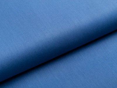 Webware Popeline Baumwolle - uni dunkles jeansblau
