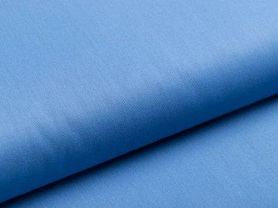 Webware Popeline Baumwolle - uni jeansblau