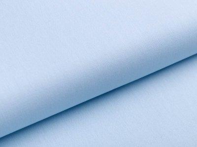 Webware Popeline Baumwolle - uni pastellblau
