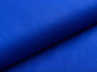 Webware Popeline Baumwolle - uni kobaltblau