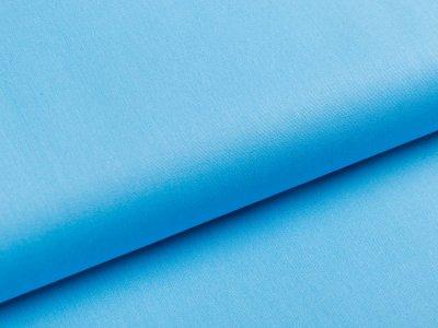 Webware Popeline Baumwolle - uni himmelblau