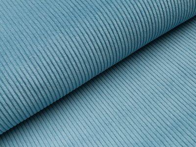 Breitcord washed - blau