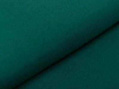 Hochwertiger Bambus Jersey - uni flaschengrün
