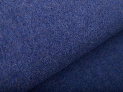 Wollwalk Mantelstoff Swafing Naomi - meliert jeansblau