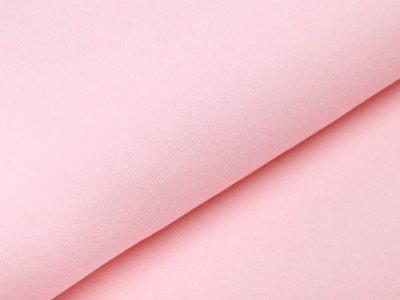 Leicht angerauter Strickstoff Swafing Bene made in Italy - uni rosa/koralle