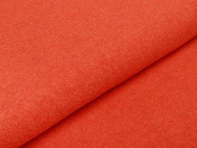Leicht angerauter Strickstoff Swafing Bene made in Italy - uni orange