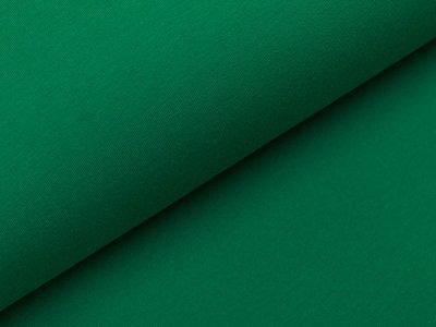 Sweat French Terry - uni grasgrün