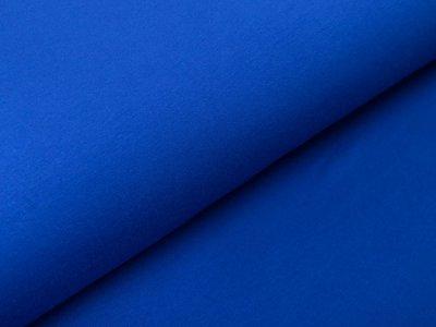 Sweat French Terry - uni kobaltblau