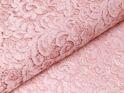 Hochwertige Spitze - Florales-Muster - helles altrosa