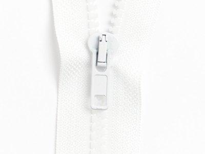 Reißverschluss teilbar 75 cm - weiß