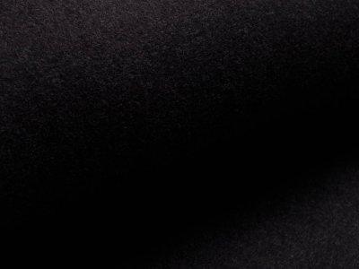 Baumwollfleece - uni anthrazit