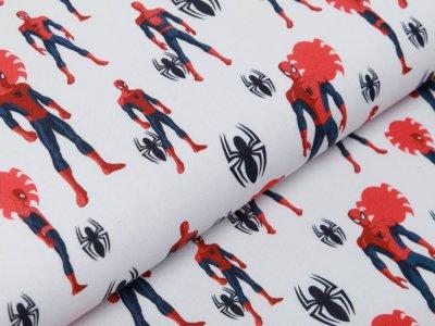Webware Stenzo Spiderman - Spiderman in Aktion - weiß