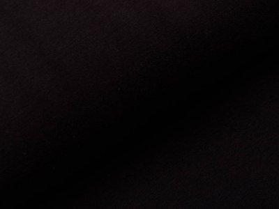 Alpenfleece - uni schwarz