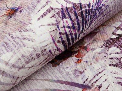 Jersey Digitaldruck Stenzo - traumhaftes Blütenmuster - flieder