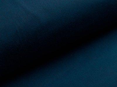 Oilskin gewachste Baumwolle - uni petrol