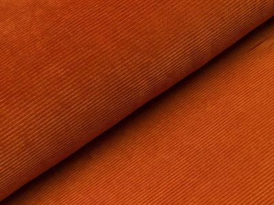 Nicki in Feincord-Optik - uni orange