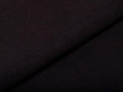 Viskose Cupro Touch glänzend - uni schwarz