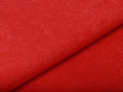 Cupro Touch glänzend - uni rot