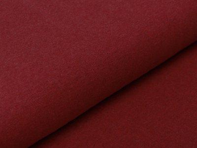 Glattes Bündchen im Schlauch Swafing Heike 95 cm - meliert rot