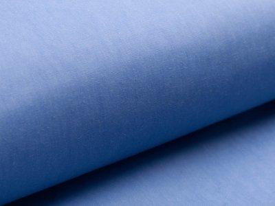 Oilskin gewachste Baumwolle - uni helles blau