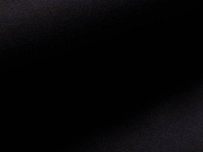 Oilskin gewachste Baumwolle Heavy - uni schwarz