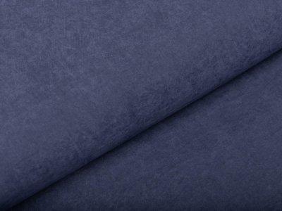 Viskose Cupro Touch glänzend - uni jeansblau