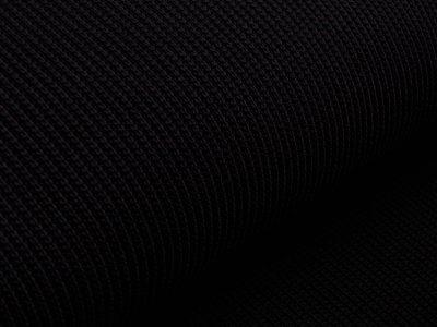 Strickstoff - uni schwarz