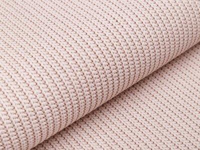 Strickstoff Baumwolle - uni beige
