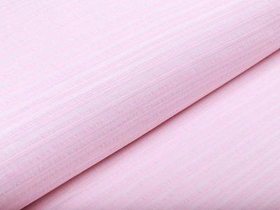 Webware Baumwolle - Streifen - rosa
