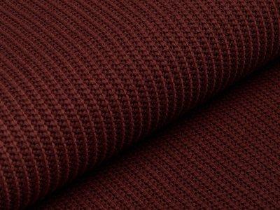 Strickstoff Baumwolle - uni braun