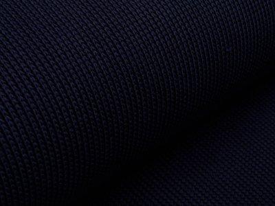 Strickstoff - uni nachtblau