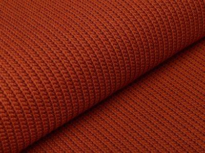 Strickstoff Baumwolle - uni terrakotta