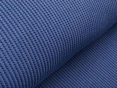 Strickstoff - uni jeansblau