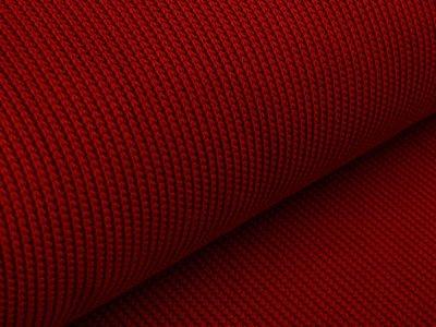 Strickstoff - uni rot