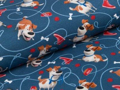 Jersey  Dreamworks - Pets - Hund Max - blau