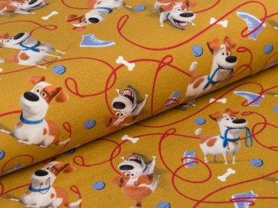 Jersey  Dreamworks - Pets - Hund Max - ocker