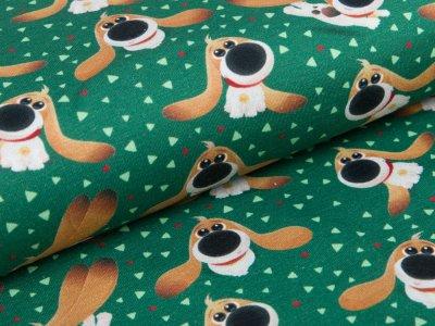 Jersey  Dreamworks - Pets - Hund Pops - grün