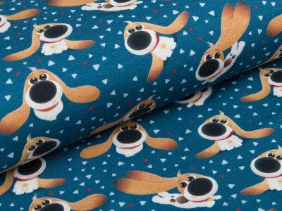 Jersey  Dreamworks - Pets - Hund Pops - blau