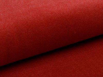 Tweed - Wolloptik - uni rot