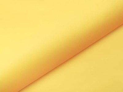 Halbtransparenter Regenjackenstoff - uni dunkles gelb