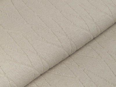Struktur-Strickstoff - Abstraktes-Muster - uni beige