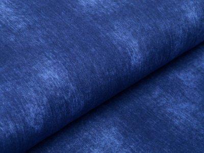 Musselin Baumwolle Hydrofiel Double Gauze Snoozy - zerknitterte Jeansoptik - uni jeansblau