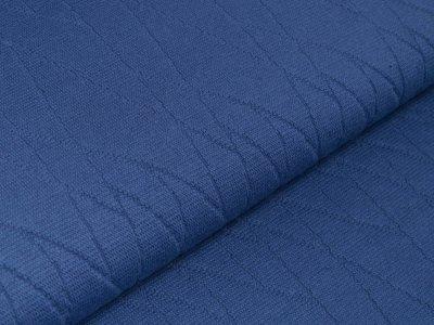 Struktur-Strickstoff - Abstraktes-Muster - jeansblau