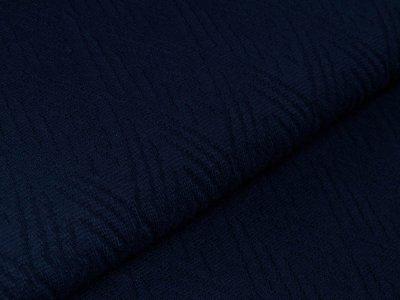 Glattes Bündchen im Schlauch Jenaro Swafing - meliert blau