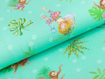 Jersey - Prinzessin Lillifee und Palmenwedel - mint