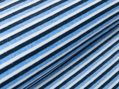 Nicki - Streifen - weiß/blau