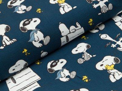 Jersey Peanuts Snoopy mit Maske dunkles blau