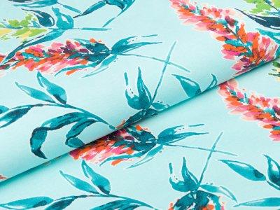 Jersey Digitaldruck Stenzo - Sommerflieder - mint