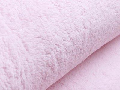 Lammfellimitat Teddy Zottel - uni rosa