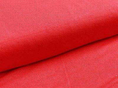 Jersey Viskose - uni rot